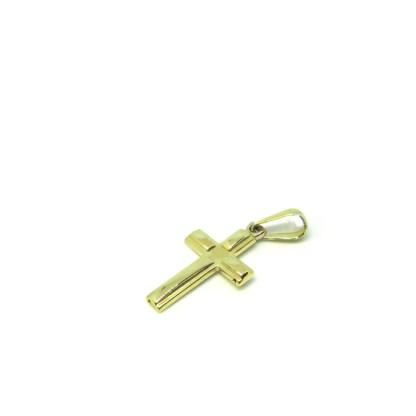 Ciondolo oro giallo Croce Tau