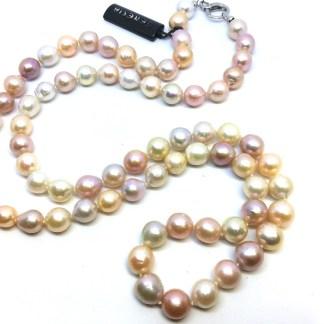 Collana donna di perle d'acqua dolce barocche Chanel Genesia Perle
