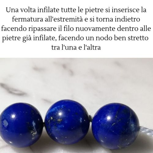 laboratorio infilatura collane