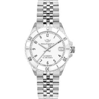 Orologio unisex acciaio acciaio zaffiro Caribe Philip Watch R8223216503