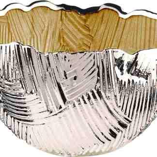 Piatto  vetro argento   Argenesi 1.754023