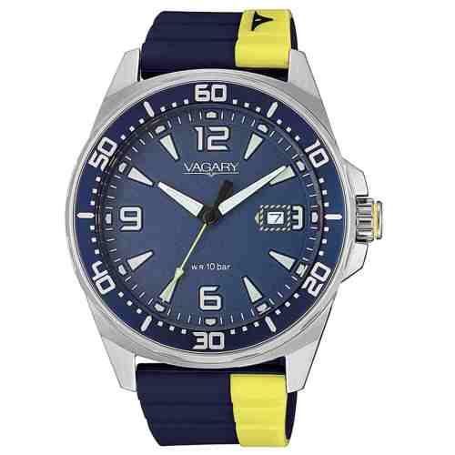 Orologio uomo Vagary Aqua39 Acciaio IB8-810-70