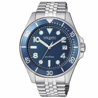 Orologio uomo Vagary Aqua 39 Acciaio VD5-015-71
