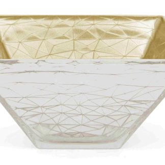Vaso  vetro argento oro giallo  Argenesi 1.754591