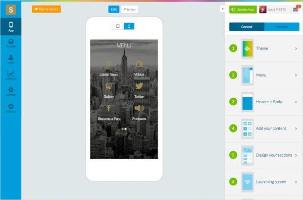 GoodBarber ile Mobil Uygulama