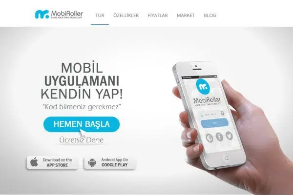 Mobile Application with MobiRoller