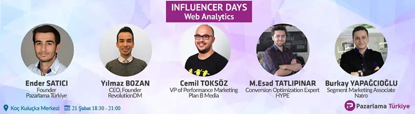 Web Analytics Pazarlama Türkiye Influencer Days