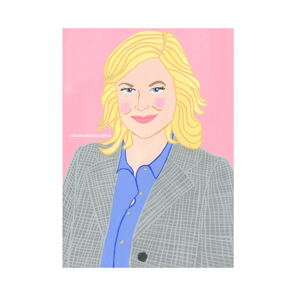 Amy Poehler as Leslie Knope Print
