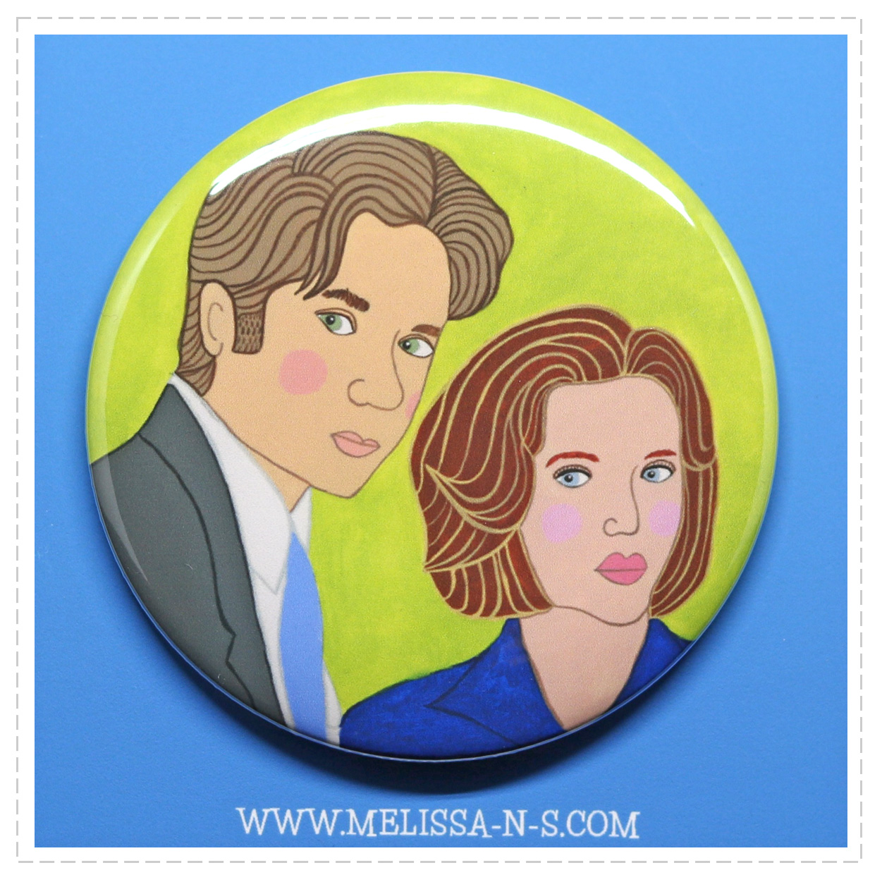 The X-files Button