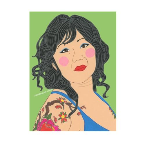 Margaret Cho Print