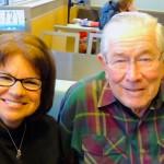 Dr Paul Byrne and Missy Caulk