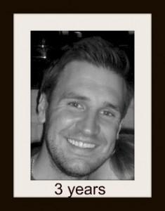 Jamie 3 years today