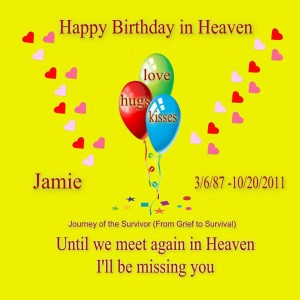 Jamie Birthday Card