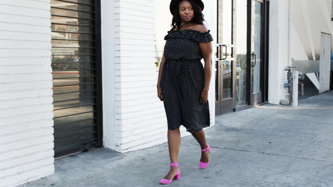 who-what-wear-collection-polkadot-dress-loeffler-randall-cami-round-toe-pink