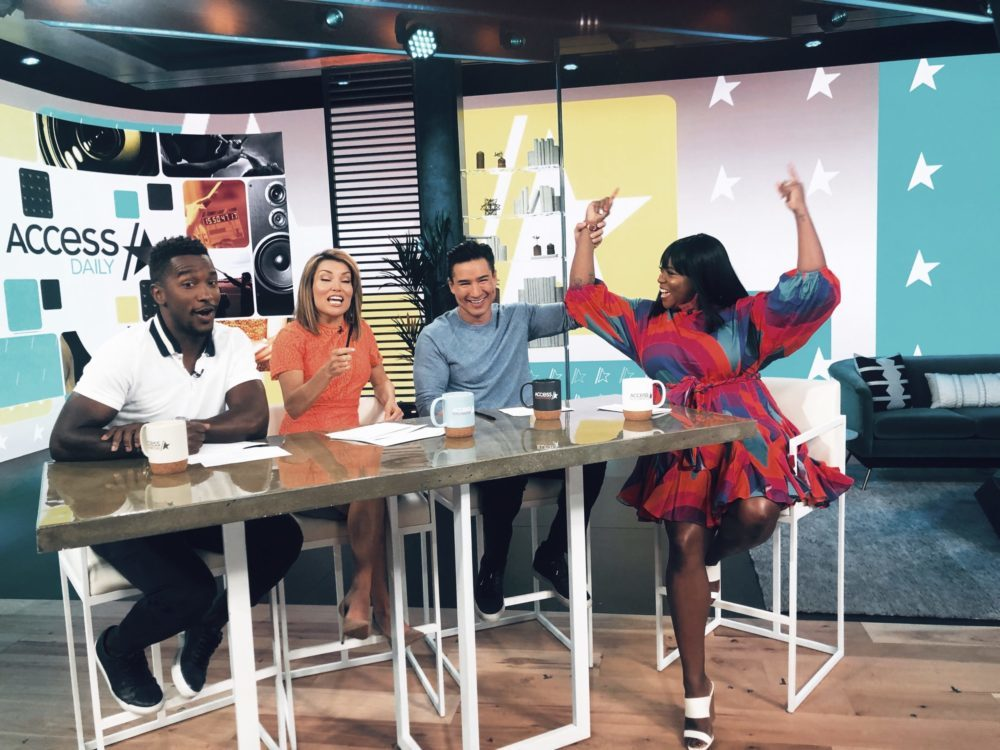 melissa chataigne hosts access daily