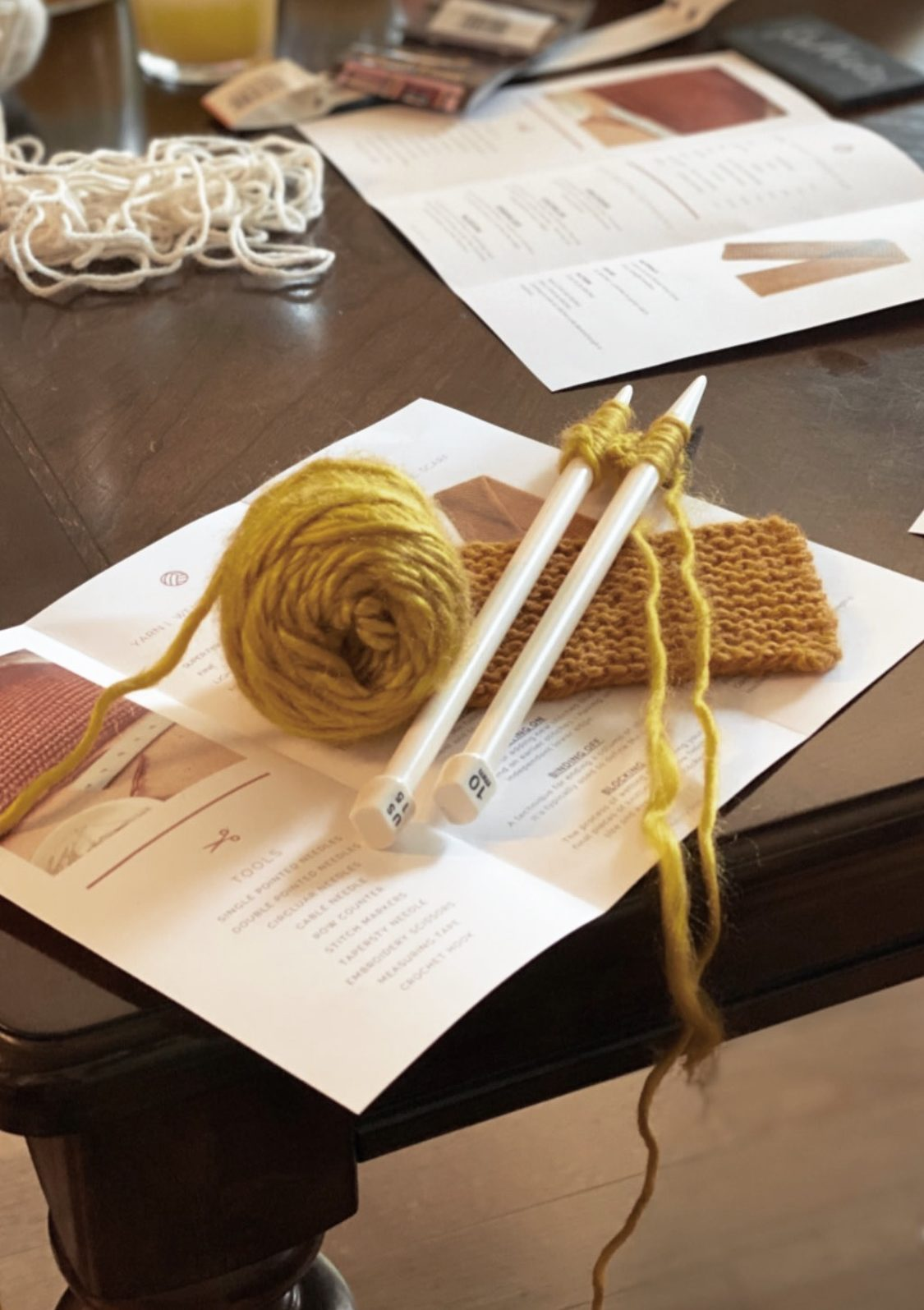 knitting tools from oui collective