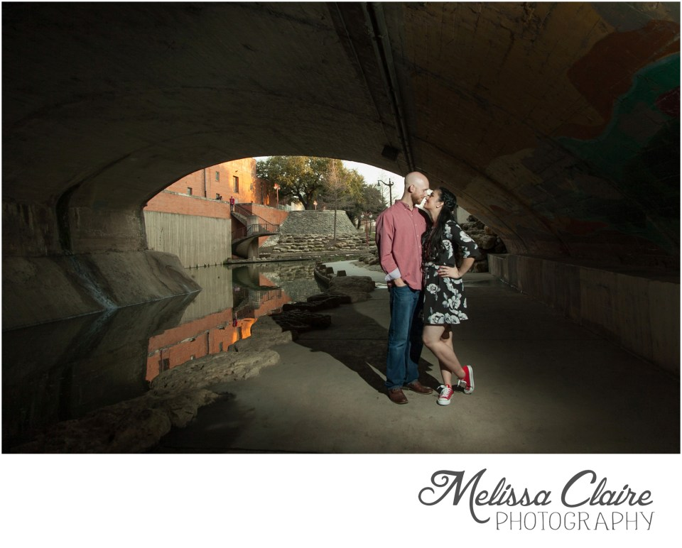fort worth stockyards engagement session