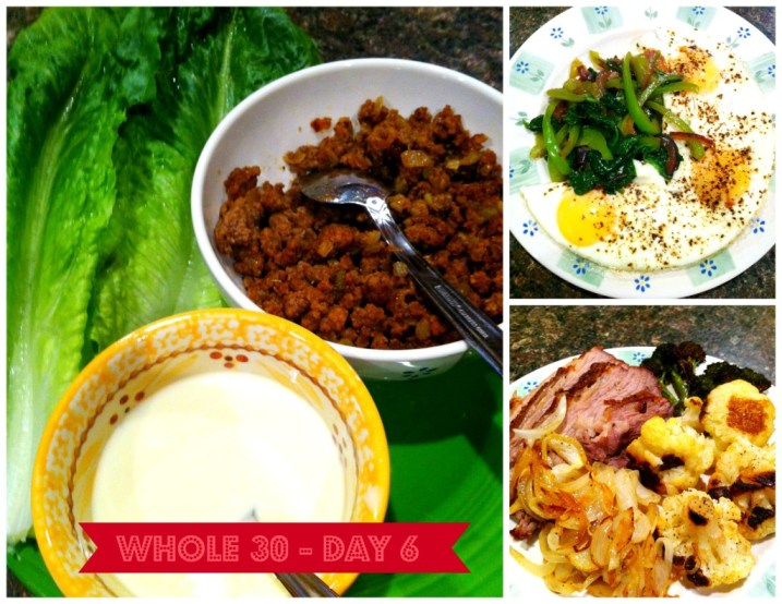 Whole30 – Day 6 – It's the weekend. Somebody hold me
