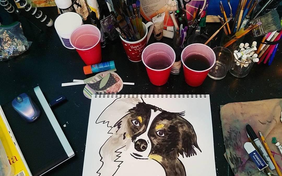 Watercolor sketchbooking