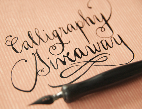 Calligraphy Giveaway I Still Love You By Melissa Esplin