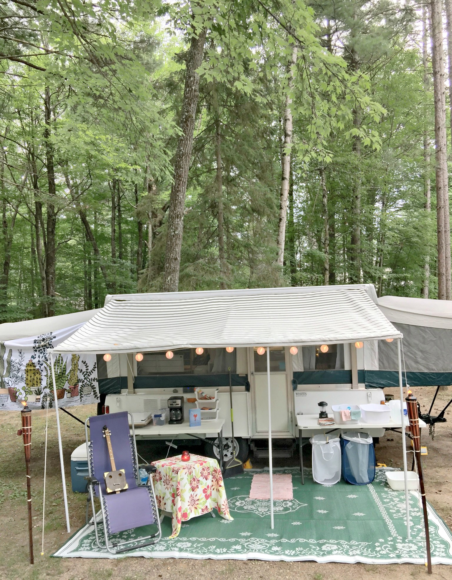 Pop Up Camper Makeover For Creative Retreats