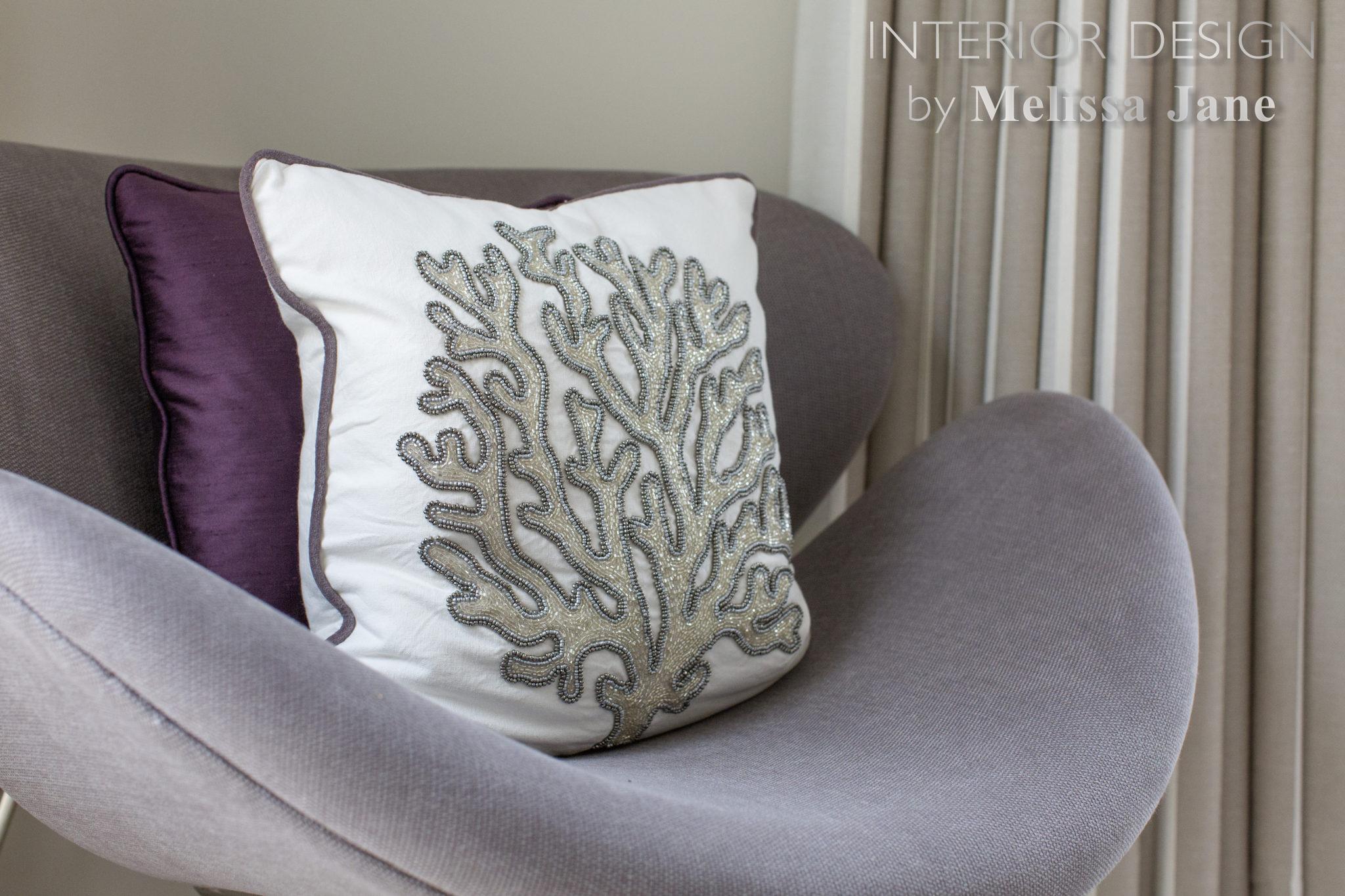Bedroom Armchair Cushion Detail