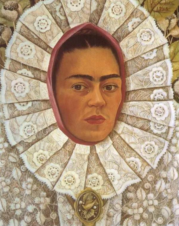 Frida Kahlo Self Portrait 1848