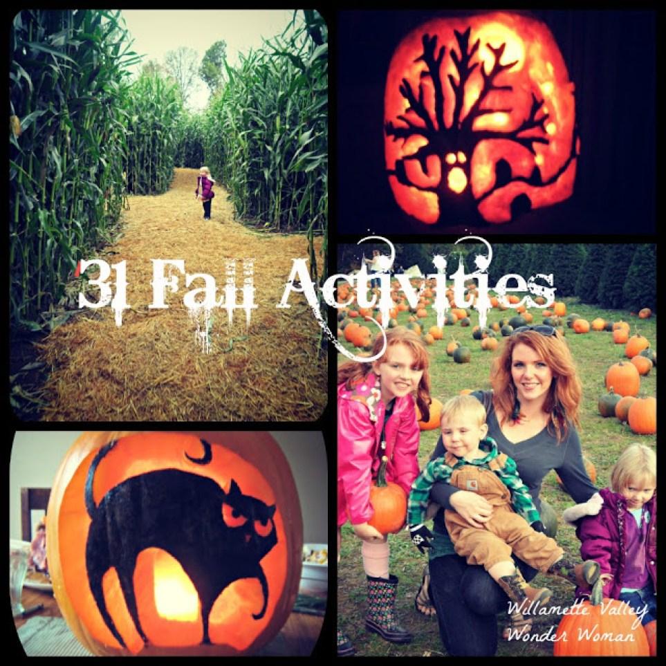 31 Fun Fall Activities / Fall Bucket List