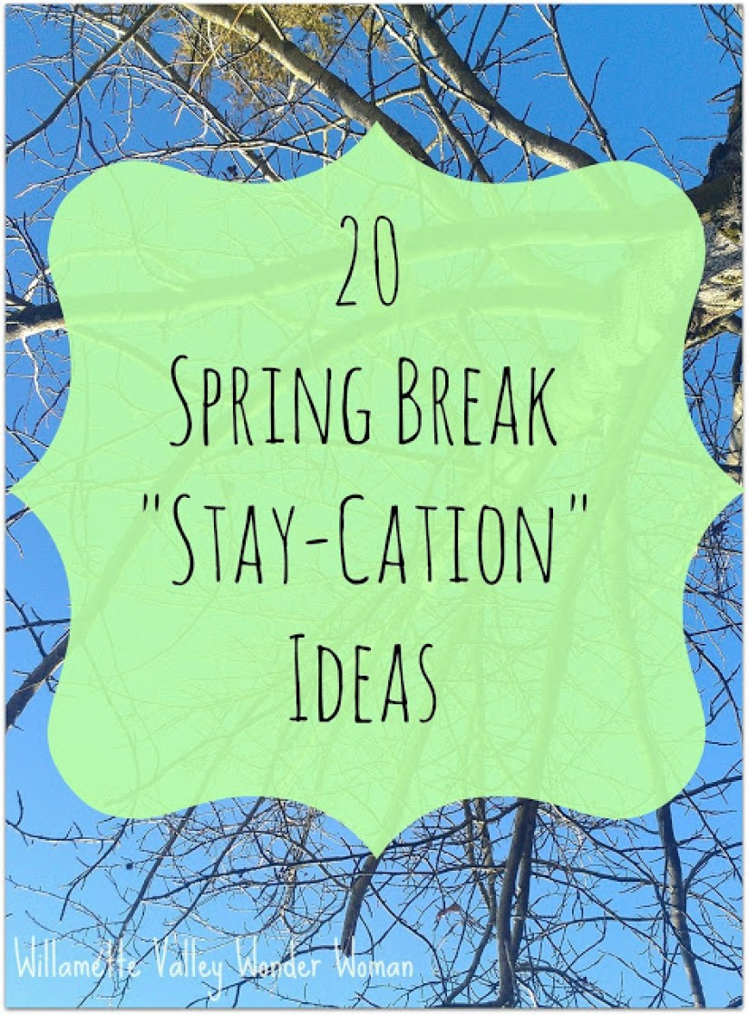 spring break ideas