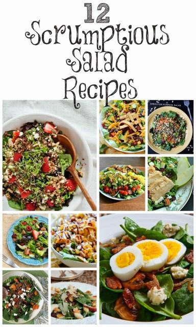 12 scrumptious salad recipes
