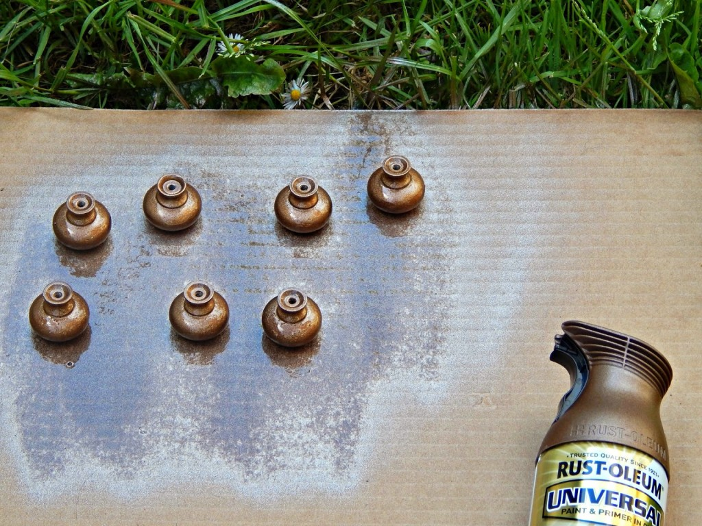 Beau Easy Kitchen Update: How To Pain Cabinet Knobs With Rust Oleum Universal Spray  Paint