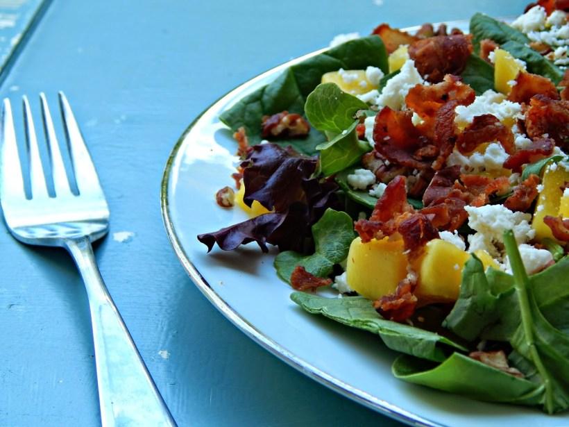 #FlavorForLess #Pmedia #ad Bacon Mango Salad