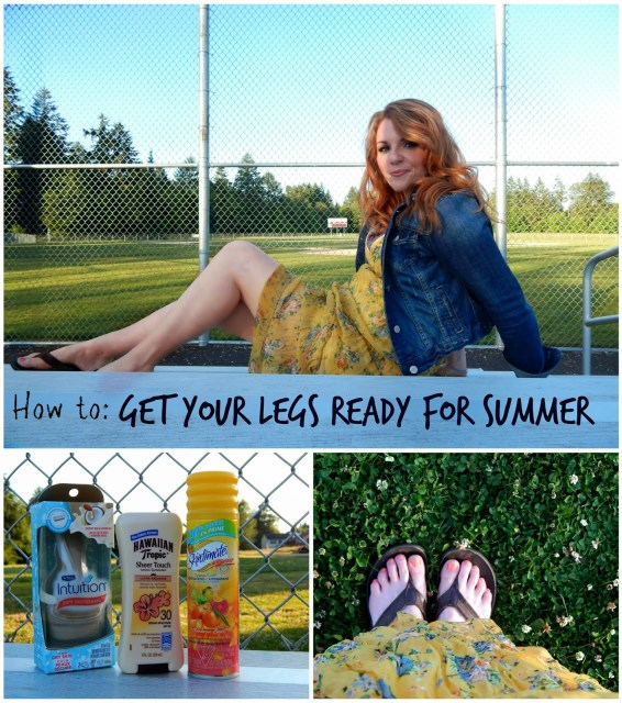 Tips to get your legs ready for summer #shop #SummerizeYourLegs #CollectiveBias