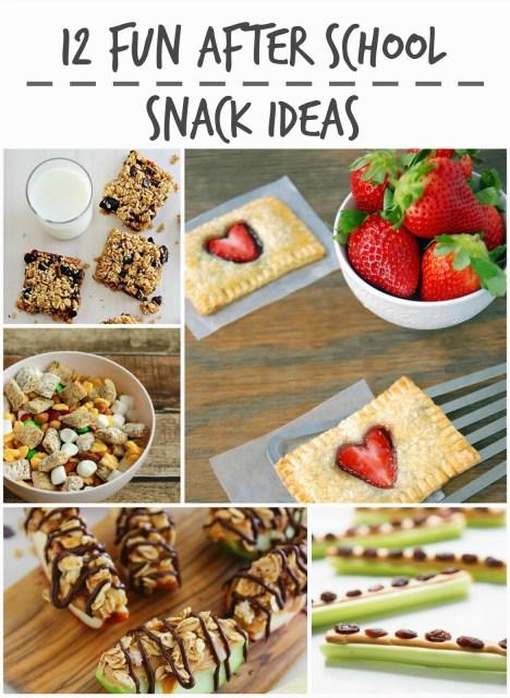 12 Fun After School Snack Ideas #sp #foodie #foodiebyglam