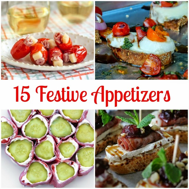 15 festive appetizer ideas from #foodie #sp