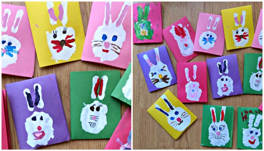 Easy Easter Bunny Cards
