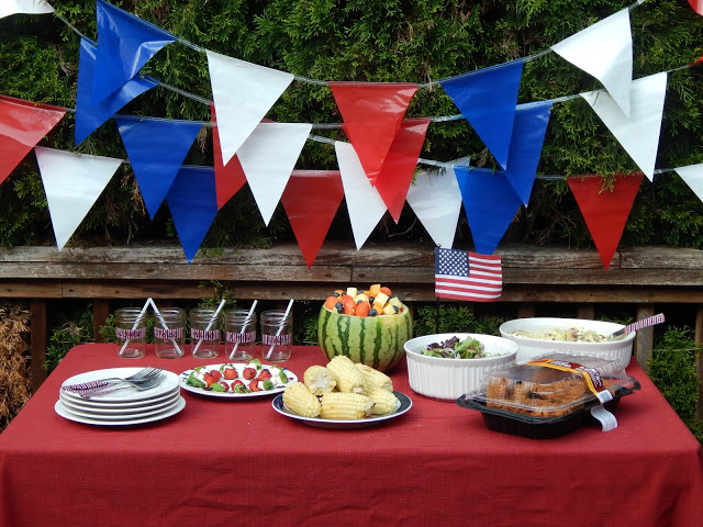 #AD Simple 4th of July Menu Idea #SummerYum @walmart