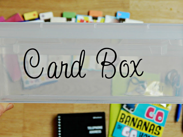 Ideas for how to make a card kit box #sendsmiles #ad