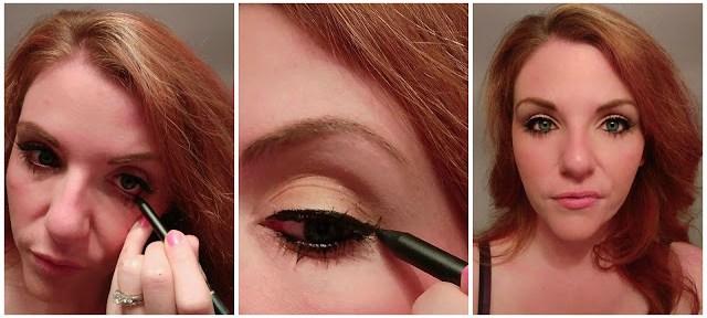 Eye Makeup tutorial + a DIY Glitter Jar Makeup Holder #LorealBeauty AD