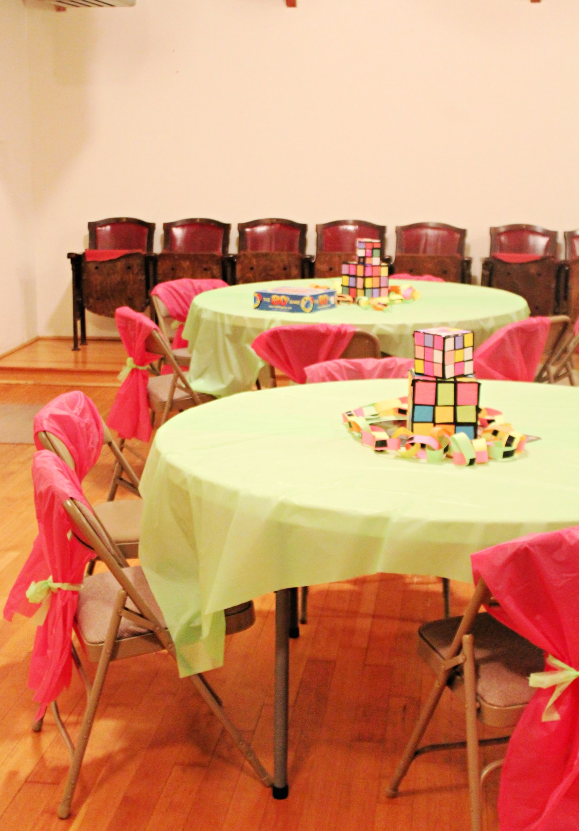 DIY Rubik Cubes for '80s Party