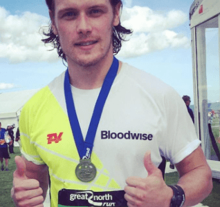 104 #Sam Heughan Thoughts featuring Davie Hollywood, Driver Extraordinaire; My Daughter, Grace & Carly Brown, the Scottish National Poetry Slam Champ.