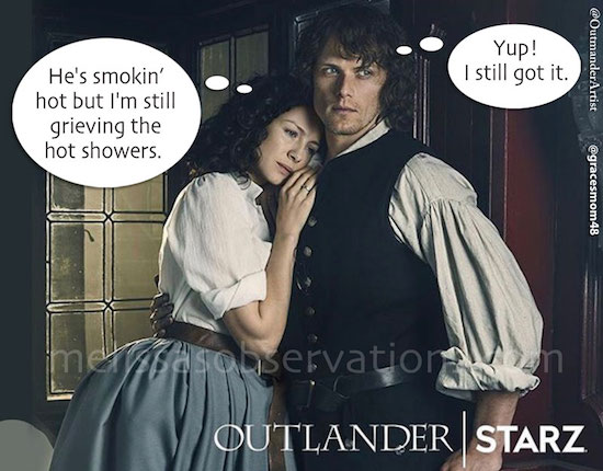 Woman vs. Man, Inner Dialogue. #Outlander Style