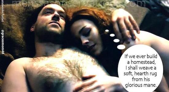 Bonus #Outlander meme only cuz I'm slightly obsessed with #RogerMacKenzie and his marvelous chest hair!