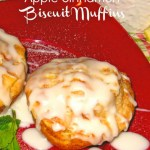 Apple Cinnamon Biscuit Muffins