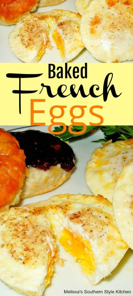 Baked French Eggs