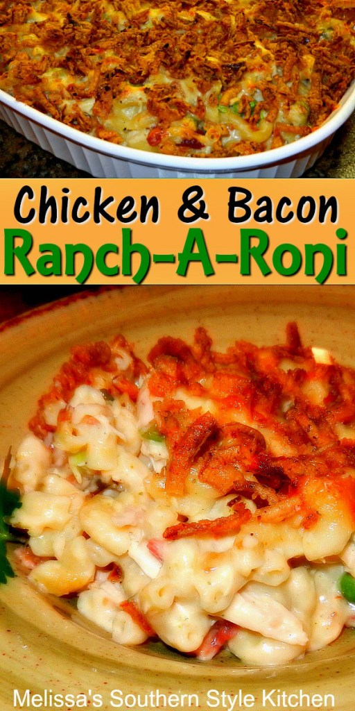 Chicken And Bacon Ranch-A-Roni