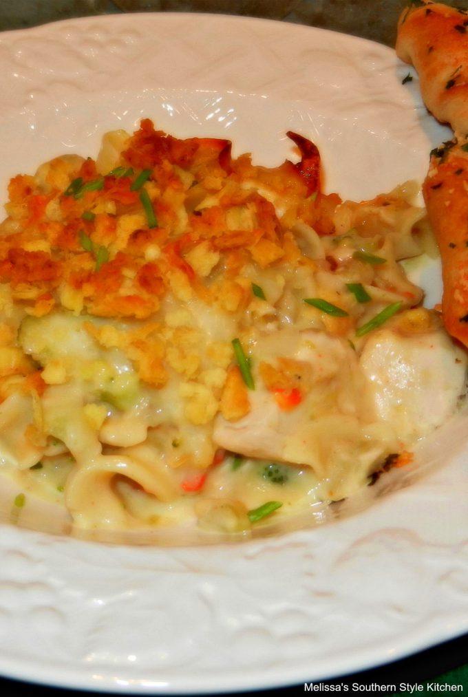 Chicken And Broccoli Noodle Casserole