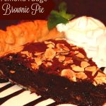 Almond Fudge Brownie Pie