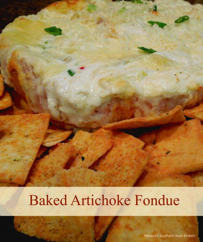 Baked Artichoke Fondue