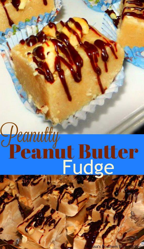Peanutty Peanut Butter Fudge